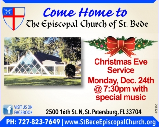 Come Home To The Episcopal Church Of St. Bede