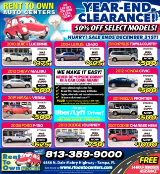 YEAR=END CLEARANCE!