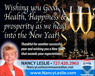 Happiness & Prosperity As We Head Into The New Year!