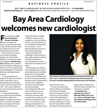Welcomes A New Cardiologist