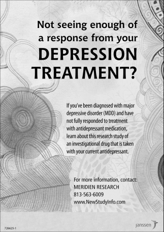 DEPRESSION TREATMENT?