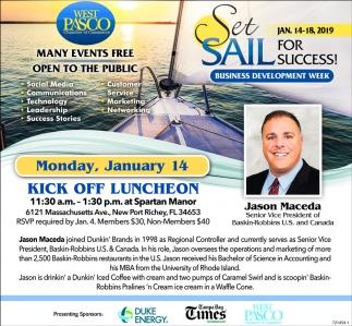 Set A Sail For Success!