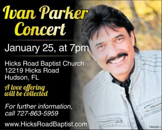 Ivan Parker Concert