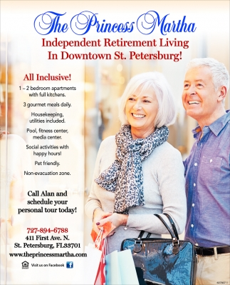 Independent Retirement Living In Downtown St. Petersburg