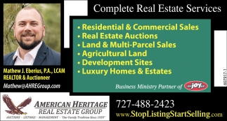 Complete Real Estates Services