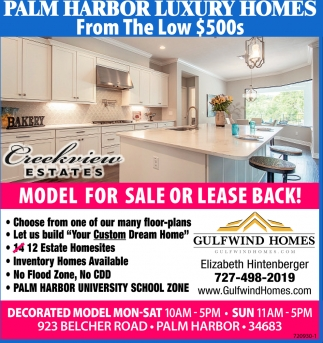 MODEL HOME FOR SALE