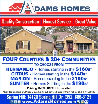 Quality Construction, Honest Service, Great Value