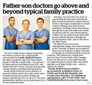 Father-son Doctors Go Above And Beyond