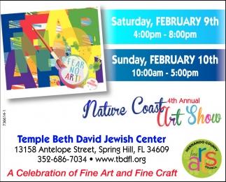 4th Annual Nature Coast Art Show