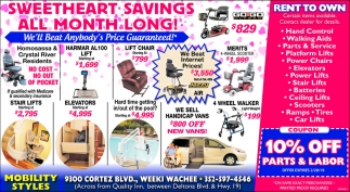 SWEETHEART SAVINGS
