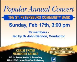 Popular Annual Concert