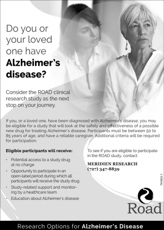 Do You Or Your Loved One Have Alzheimer's Disease?
