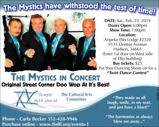 The Mystics In Concert