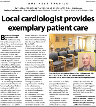 Local Cardiologist Provides Exemplary Patient Care , Bay