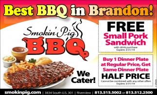 Best BBQ In Brandon!