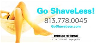 Go ShaveLess!