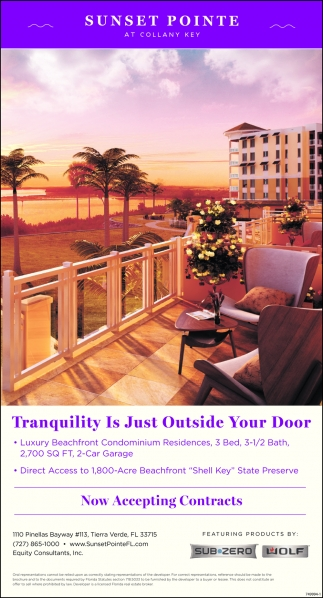 Tranquility Is Just Outside Your Door