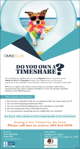 Do You Own Timeshare?