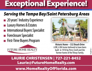 Exceptional Experience!
