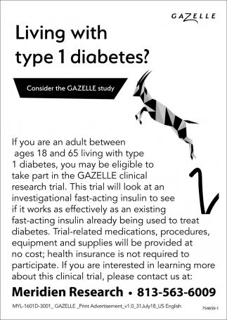 Living With Type 1 Diabetes?
