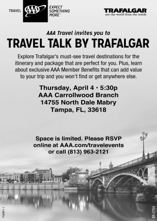 TRAVEL TALK BY TRAFALGAR