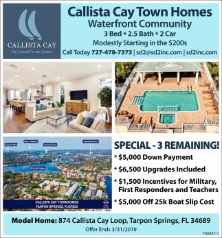 Callista Cay Town Homes