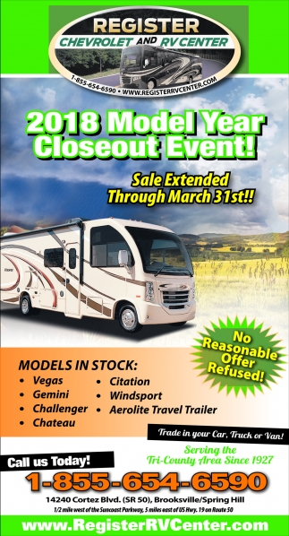 2018 Model Year Closeout Event!
