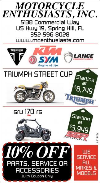Triumph Street Cup