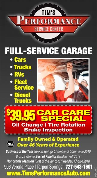 Full-Service Garage