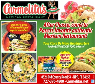 After Chasco, Come To Pasco's Favorite Authentic Mexican Restaurant