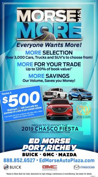 Ed Morse Auto Plaza >> Everyone Wants More Ed Morse Auto Plaza Port Richey Fl