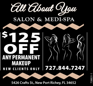 $125 Off Any Permanent Makeup