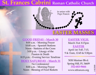 Easter Masses