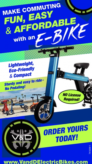 Make Community Fun, Easy & Affordable With And E-Bike