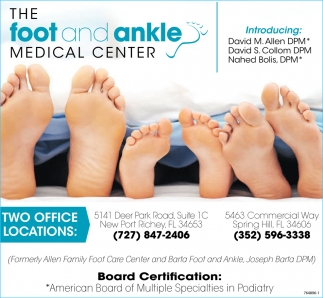 The Foot And Ankle Medical Center
