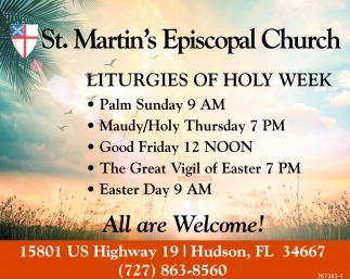 LITURGIES OF HOLY WEEK