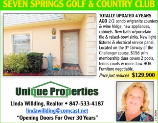 SEVEN SPRING GOLF & COUNTRY CLUB