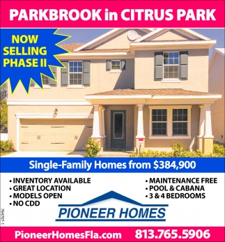 PARKBROOK IN CITRUS PARK
