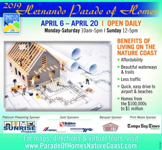 2019 Hernando Parade Of Homes