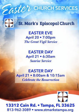 EASTER CHURCH SERVICES