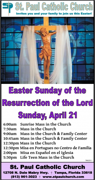 Easter Sunday Of The Resurrection