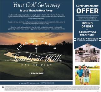 Your Golf Getaway