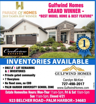 INVENTORIES AVAILABLE
