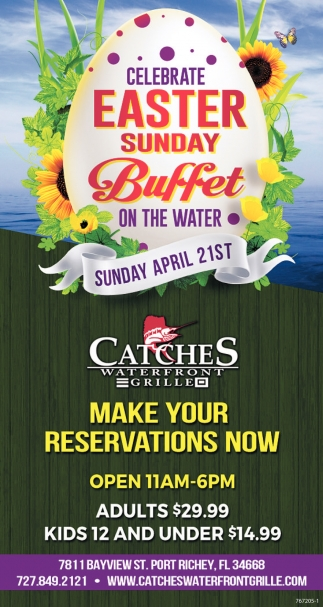 Celebrate Easter Sunday Buffet