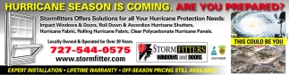 HURRICANE SEASON IS COMING