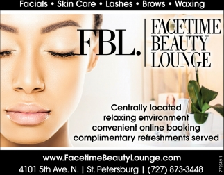 Facials, Skin Care, Lashes And More