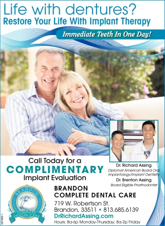 Restore Your Life With Implant Therapy