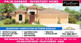PALM HARBOR- INVENTORY HOME