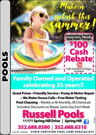 Make A Splash This Summer!