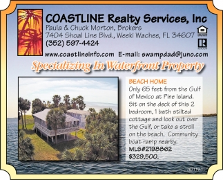 Specializing In Waterfront Property